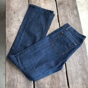 WOMENS J. CREW BOOTCUT JEAN IN CLASSIC RINSE WASH